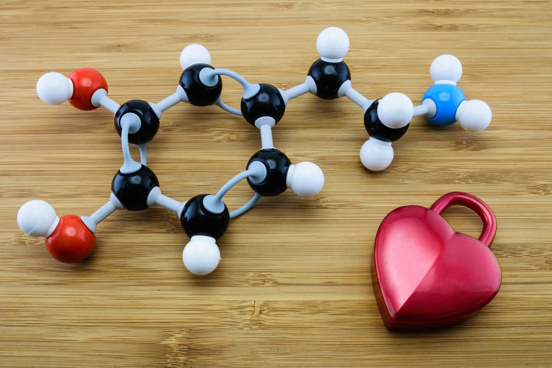 把爱情写成分子式,结果就是多巴胺