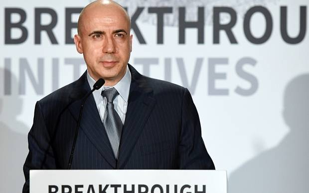 Yuri Milner and Stephen Hawking announce global science initiative in London