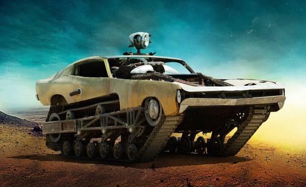 【今日乐见】《疯狂的麦克斯 4》里的那些车