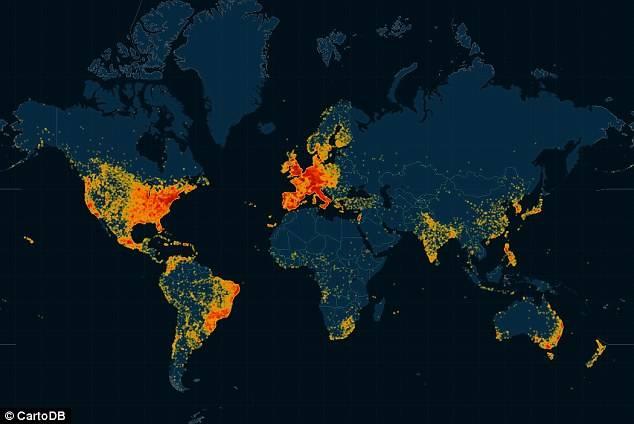 单身汪乐见:世界最大偷情网站再遭黑,一张图告诉你哪里的人最不忠