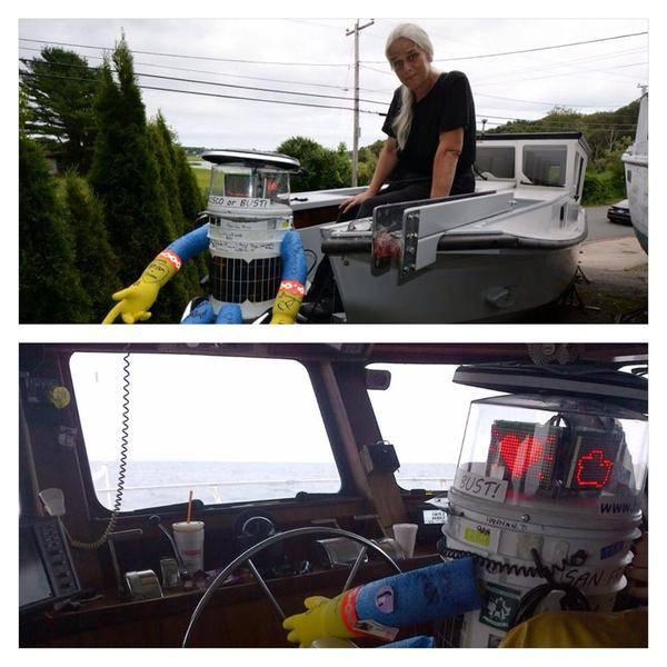 hitchBOT-boat