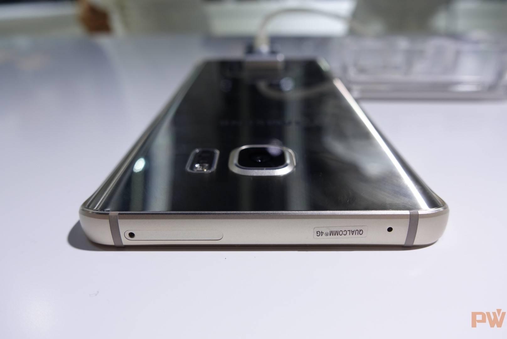 Galaxy Note 5的背面