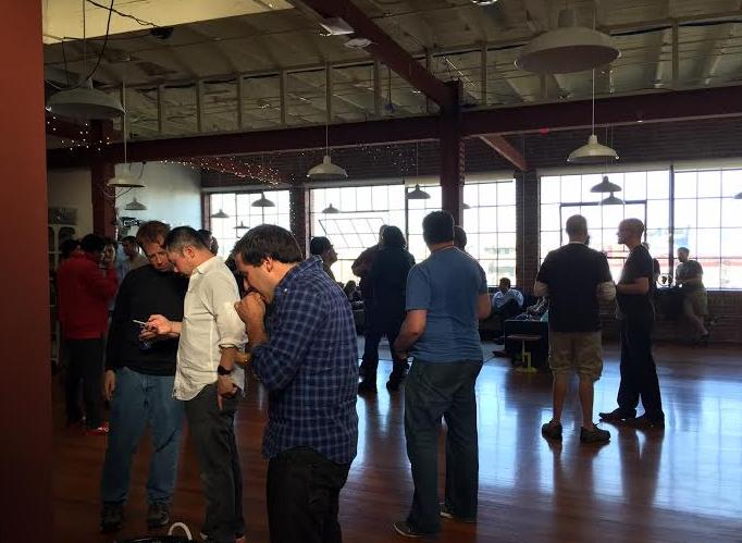 Mapbox 在旧金山办公室里举办 Party