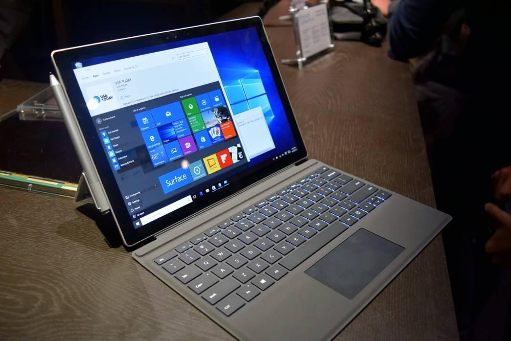 微软新推出的 Surface Pro 4 / Digital Trends