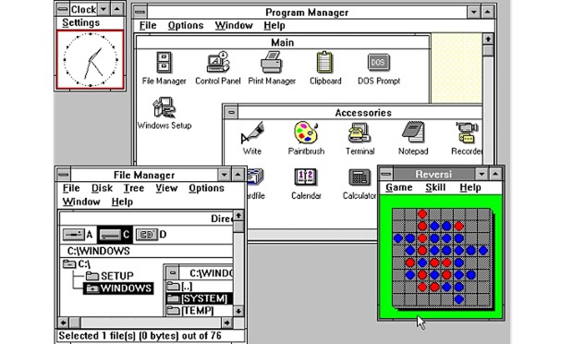 Windows3.0