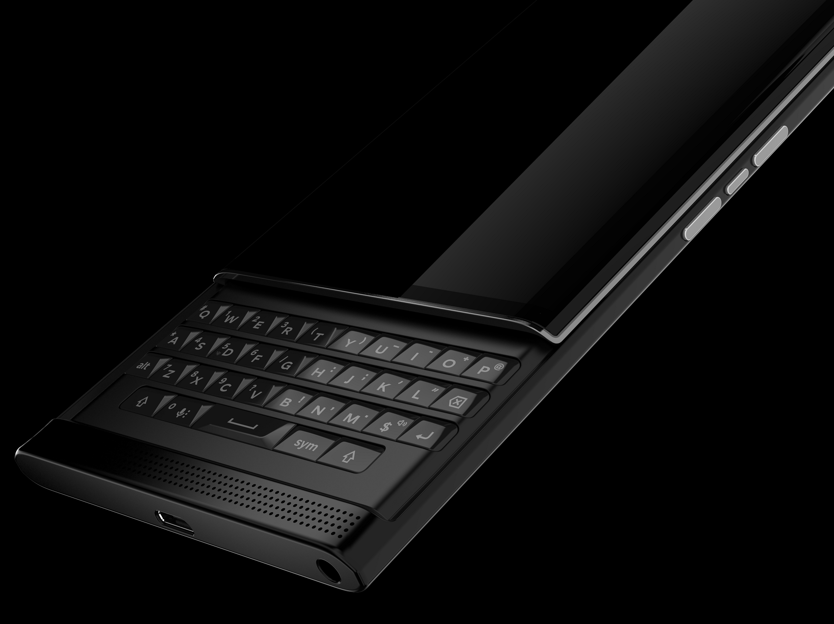 BlackBerry priv_keypad PingWest
