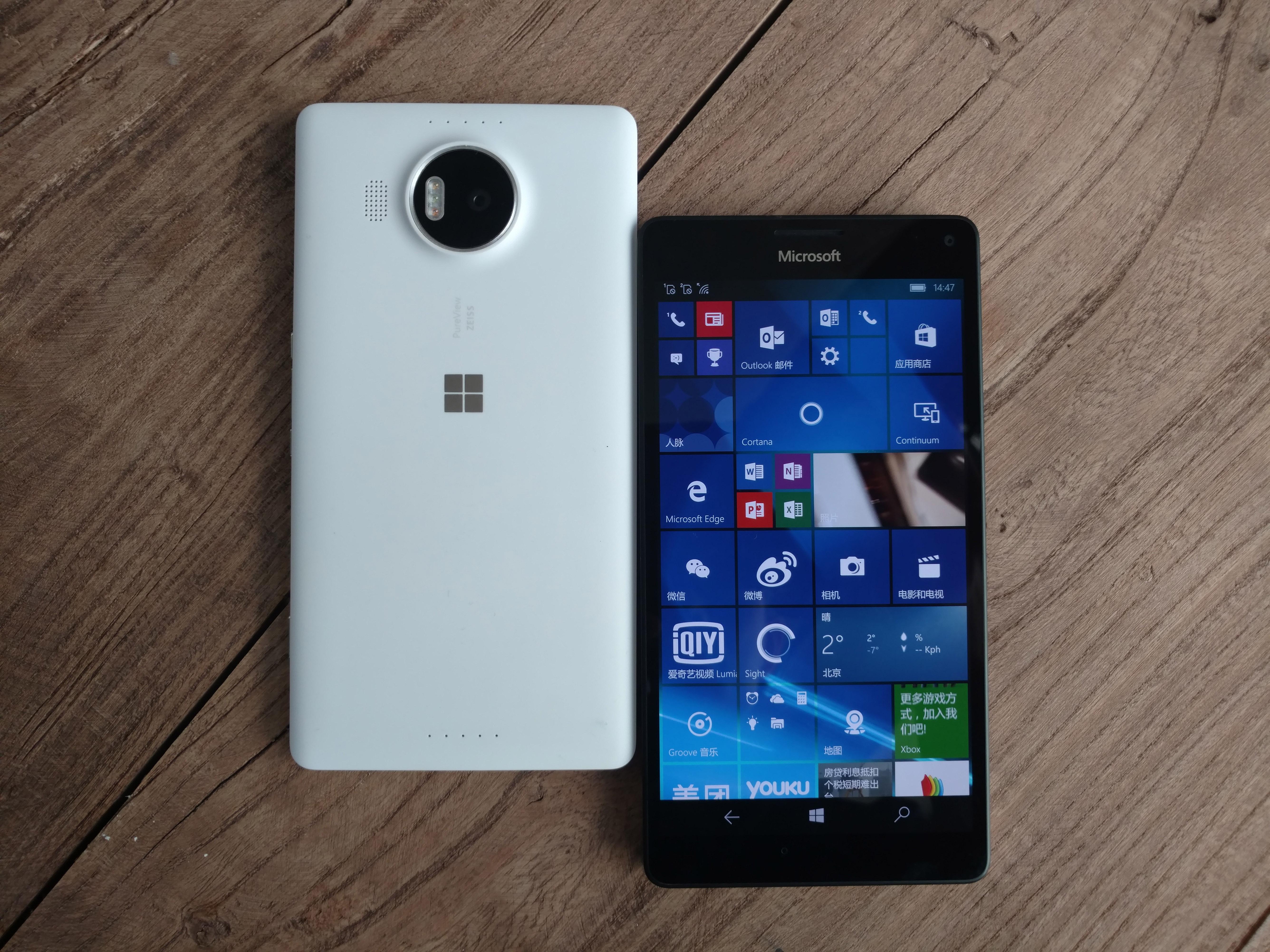 Microsoft Windows 10 Lumia 950XL 950 Continuum