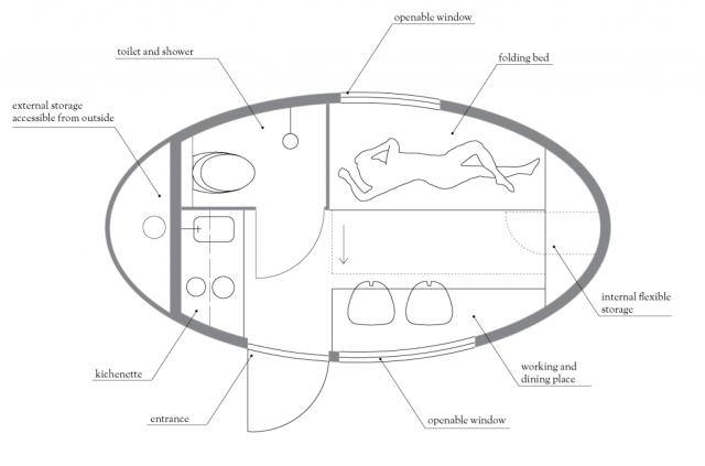 ecocapsule-layout