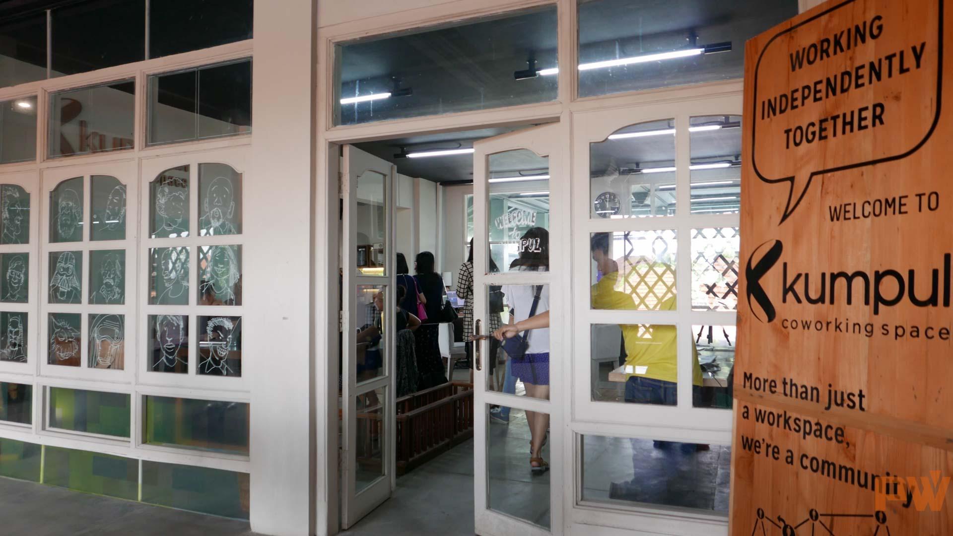 Uber 巴厘岛的办公地点位于 Kumpul 共享办公空间。/Photo by 郝影