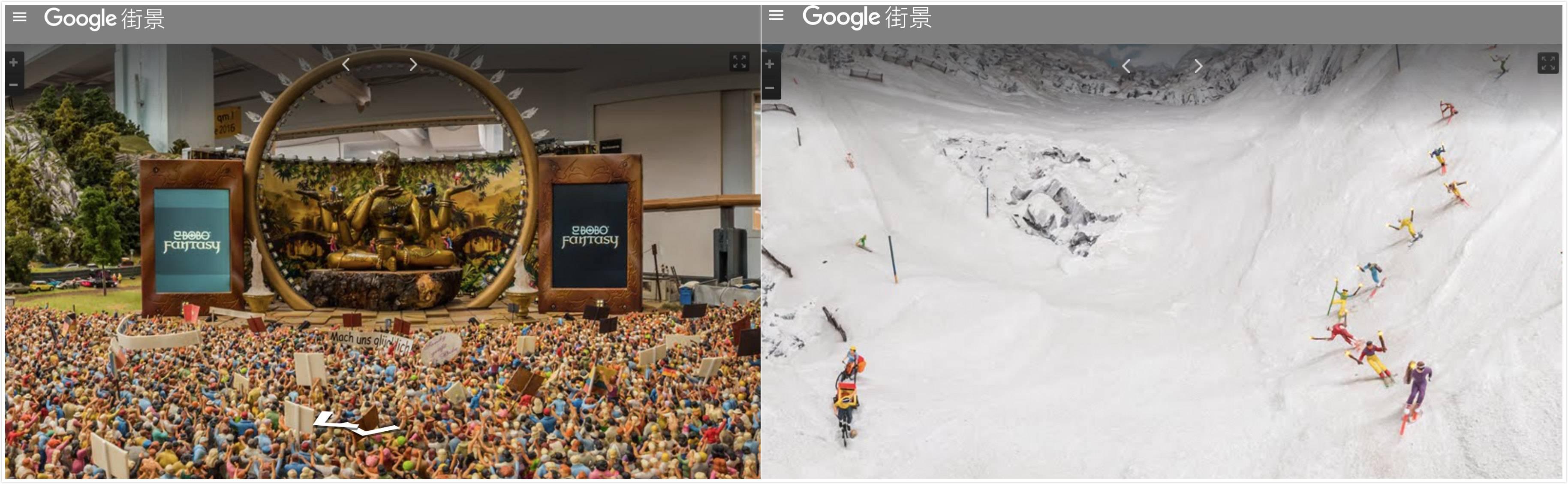 Google 街景收录了整个汉堡微缩景观世界,是我见过最萌的街景地图