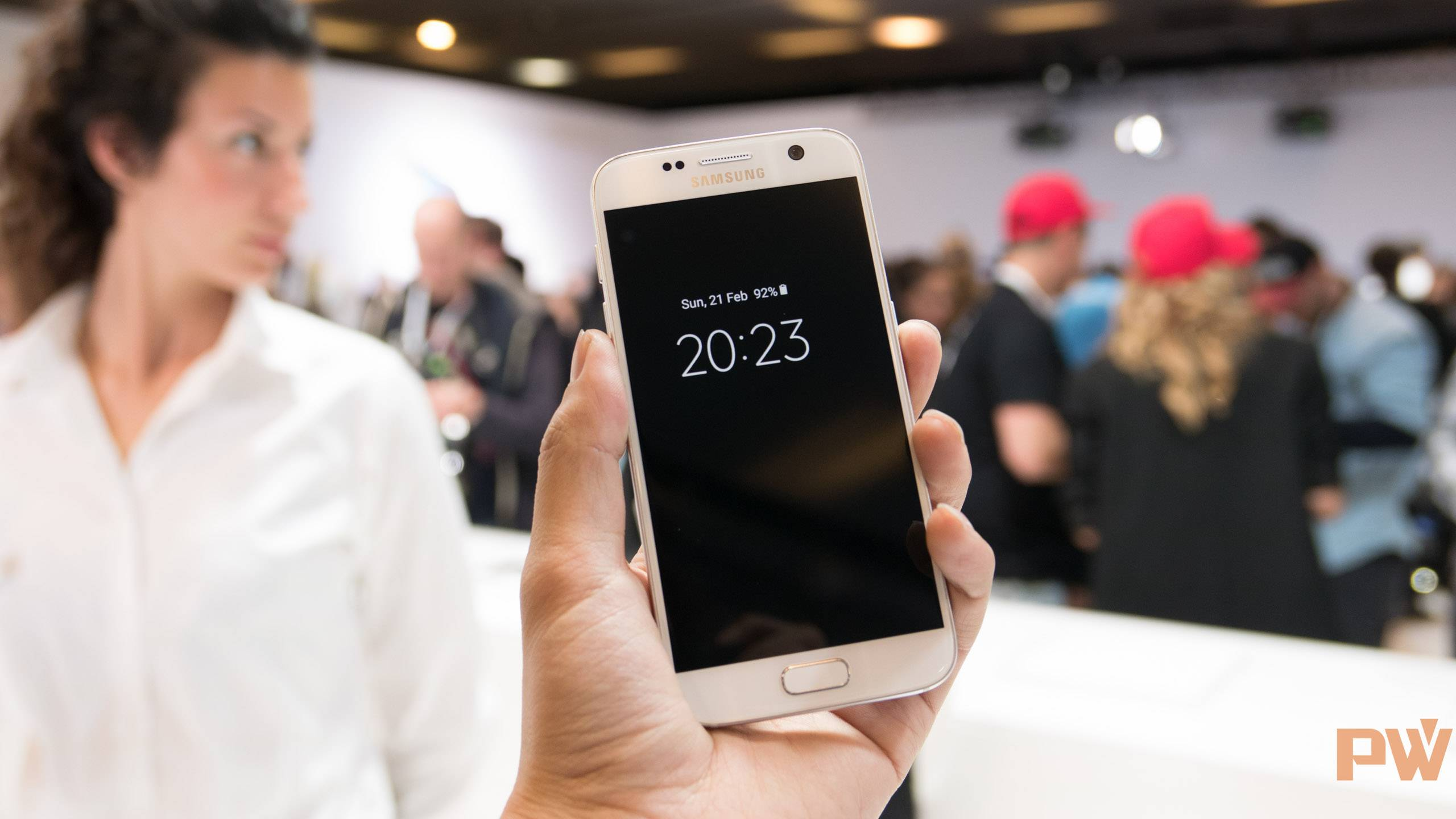 Samsung Galaxy S7 S7 edge MWC 2016 PingWest Photo By Hao Ying-42