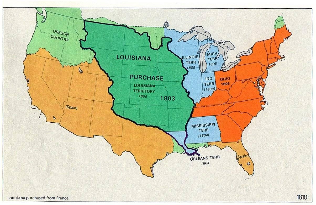 影片剧情发生在 Louisiana Purchase,覆盖现美国中部大片地方