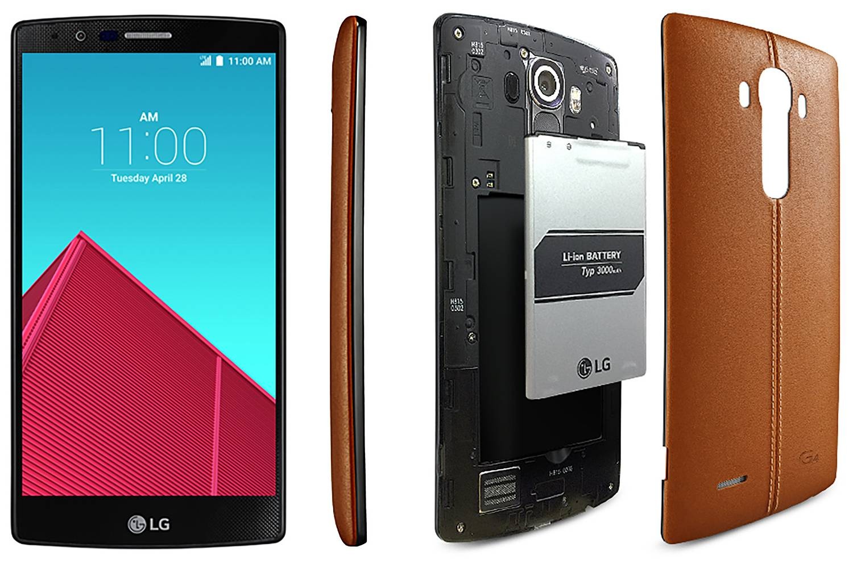 配备曲面屏、皮质后壳的 LG G4