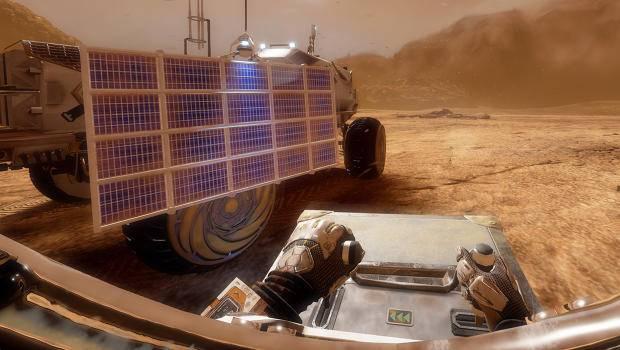 就像在玩第一人称视角的《火星救援》游戏