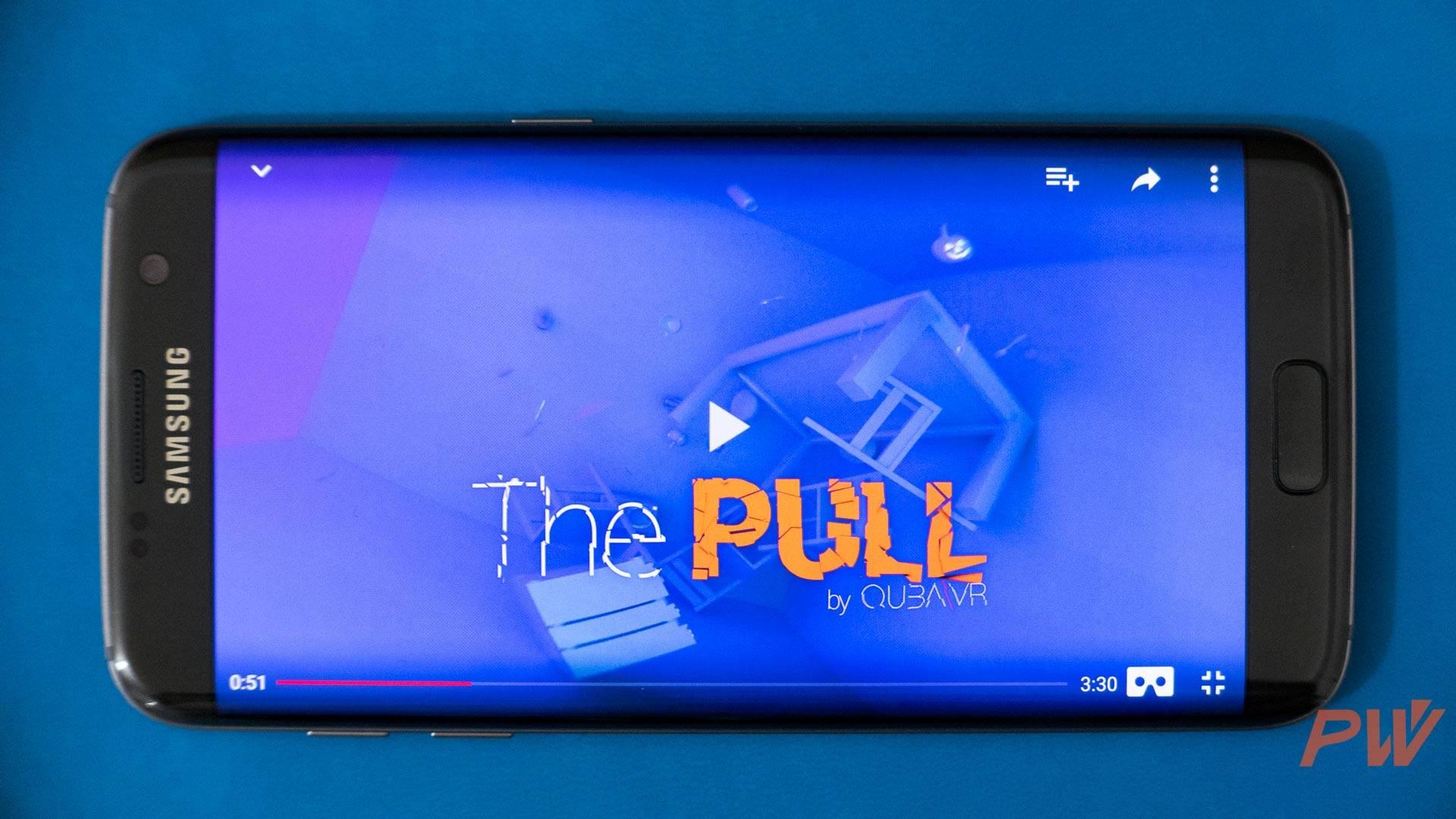 Samsung Galaxy S7 edge Google Cardboard VR PingWest Photo By Hao Ying-3