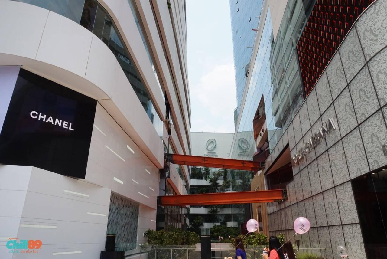 Lazada泰国办公室位于一个巨大的购物中心楼上,这里可以方便地买到各种奢侈品牌