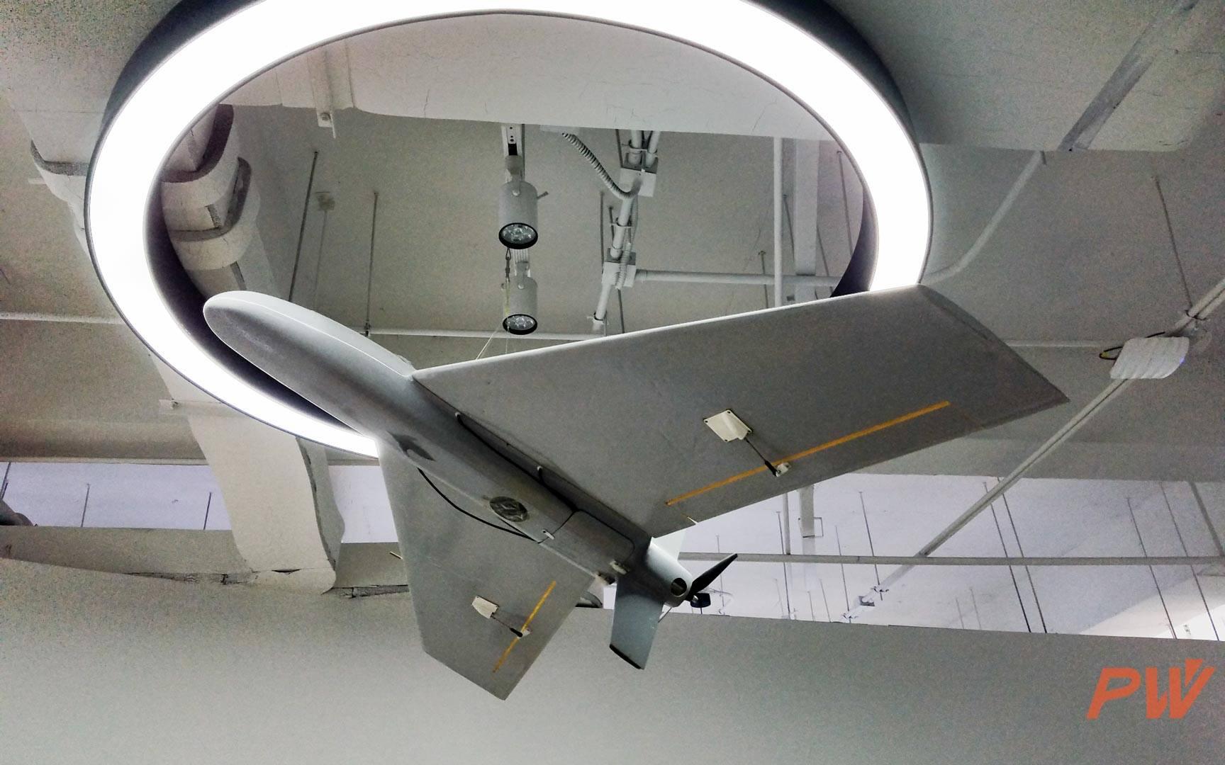 零度智控早年研发的固定翼无人机