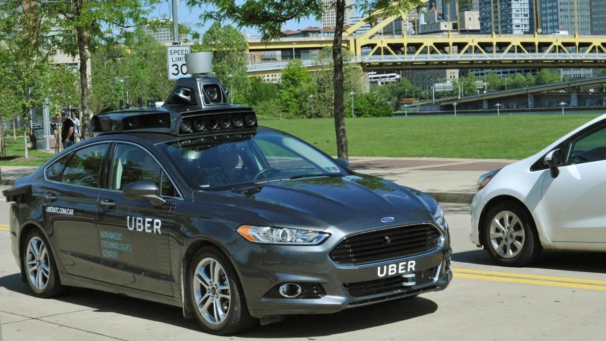 Uber 提供的实测照片