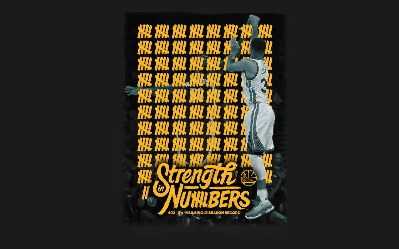 库里一个人本赛季就投进了402个三分球