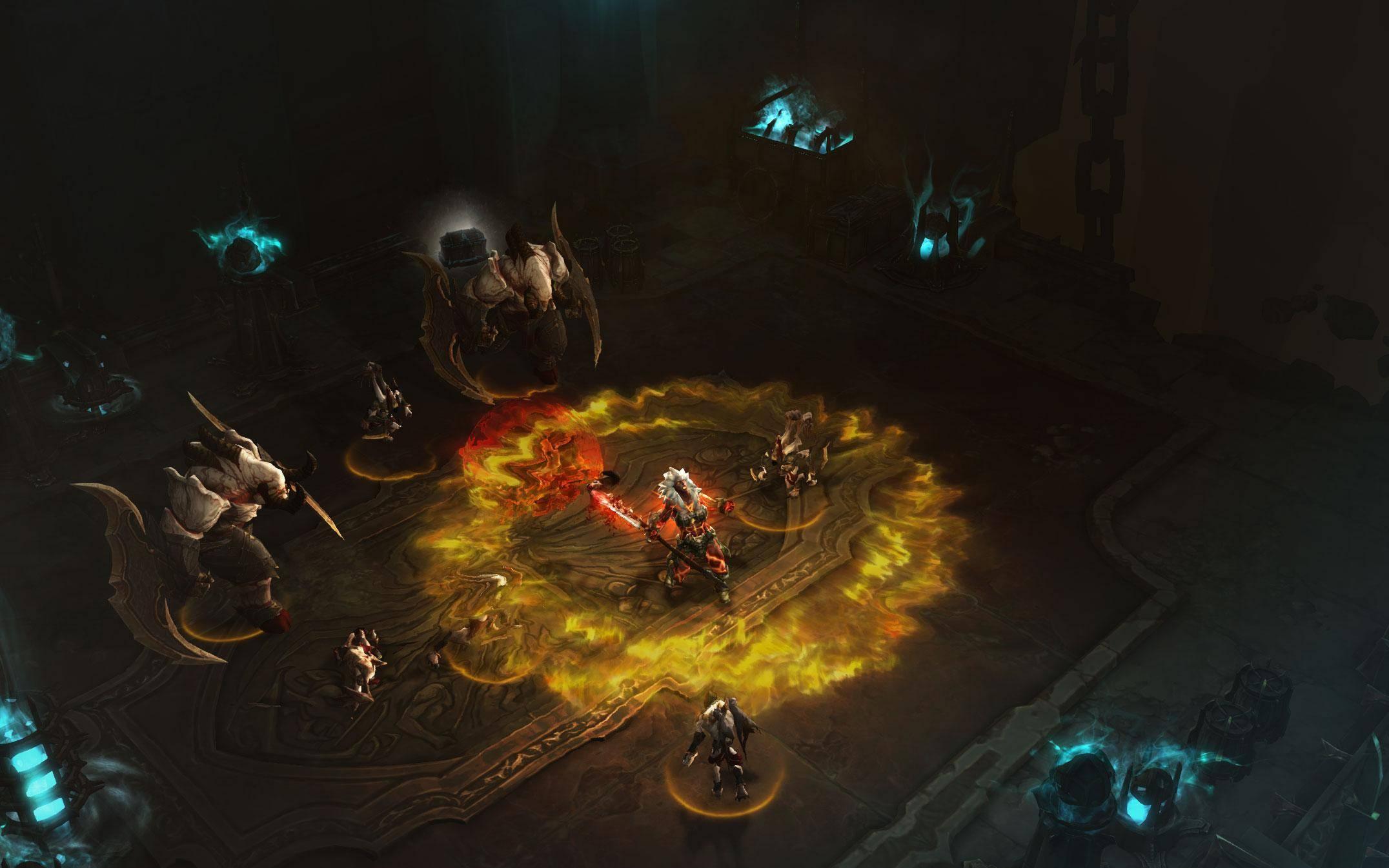 按份销售的《暗黑 3 》和订阅模式的《魔兽世界》不一样,即便活跃玩家不高,仍然是买出一份赚一份的钱