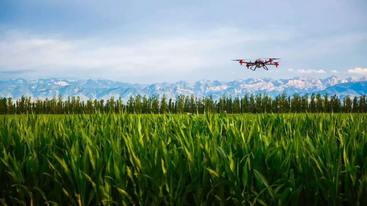 xaircraft agriculture with alipay