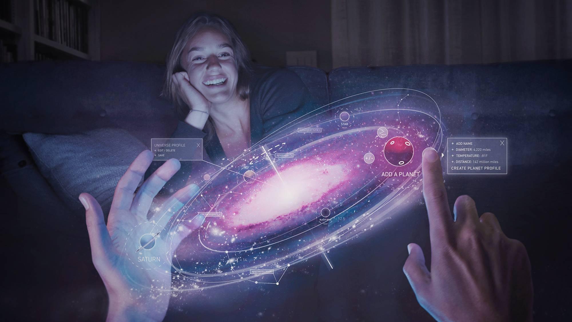创造一个星系