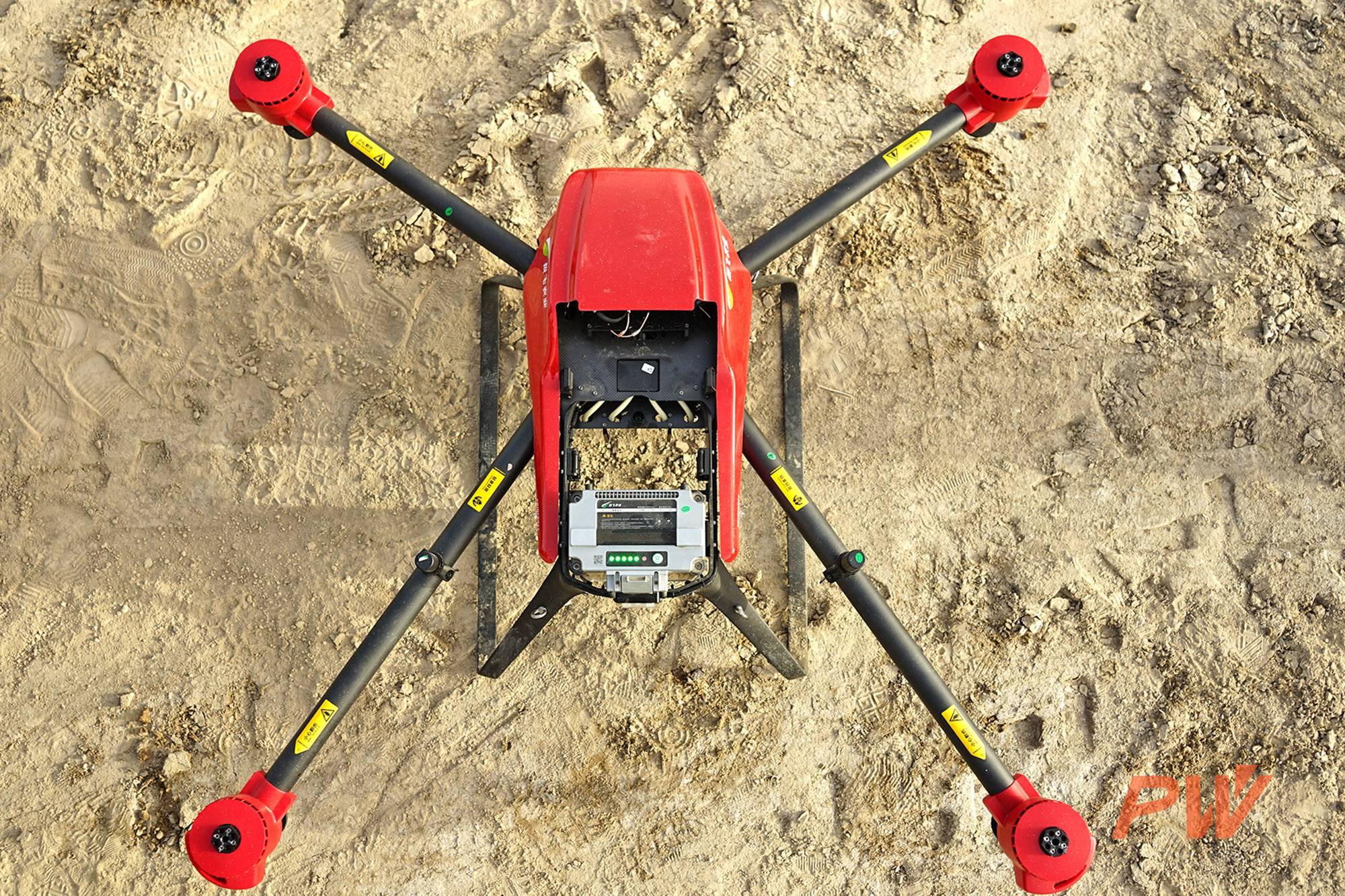 很惭愧,极飞无人机为新疆农业做了一点微小的贡献