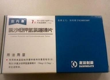 业界使用氢氯噻嗪和其他药物制成复方药用于降压
