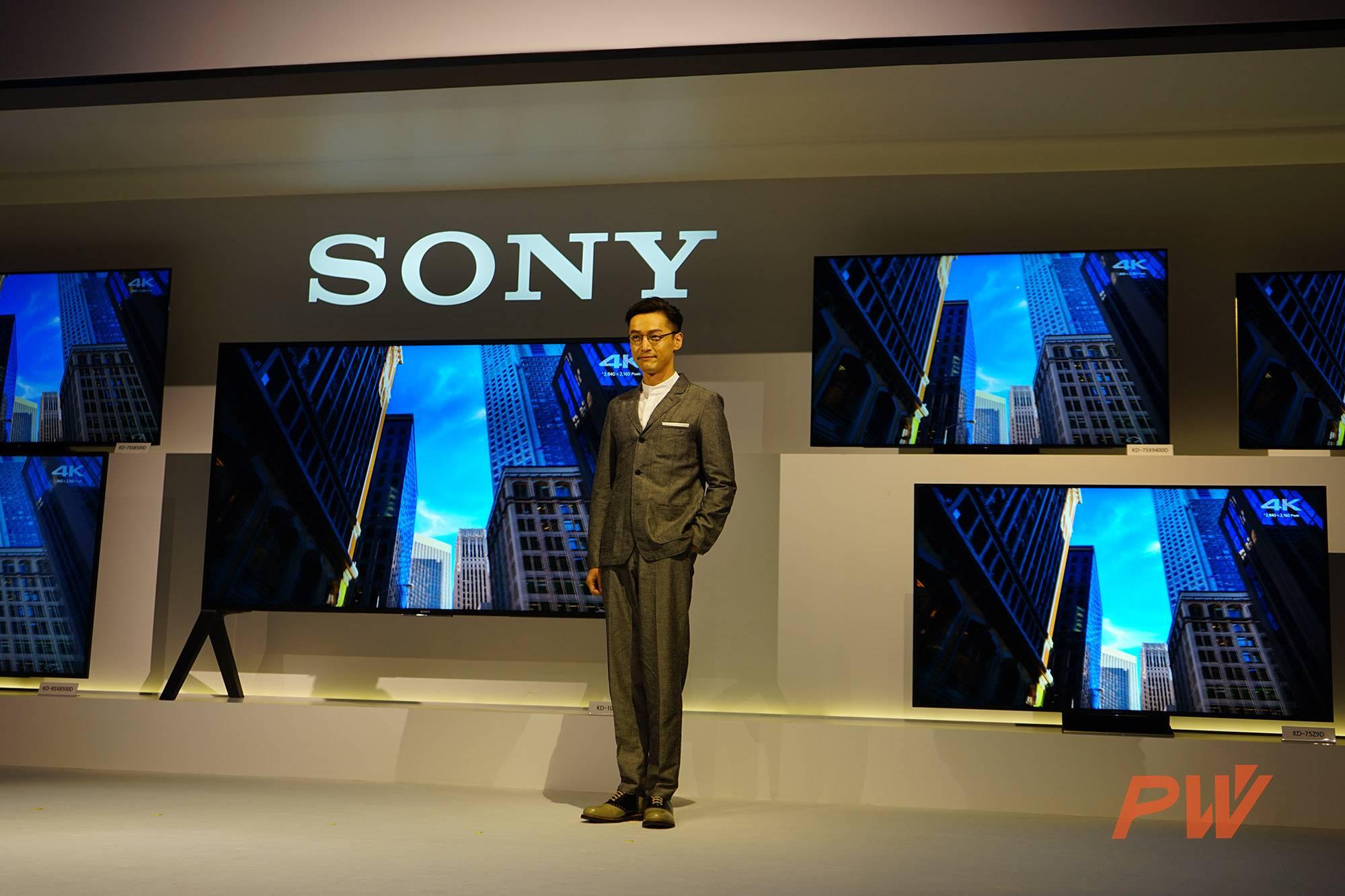 又有机会充值信仰了!索尼发布史上最大4K HDR电视-PingWest 品玩