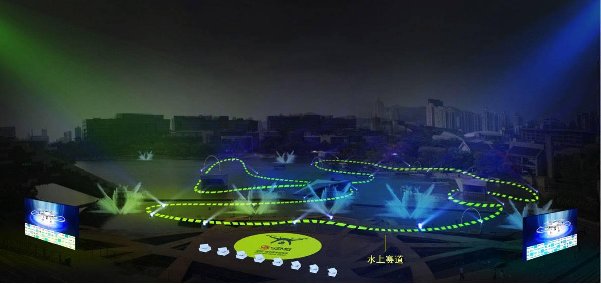 赛道效果图 来自 D1天空竞技