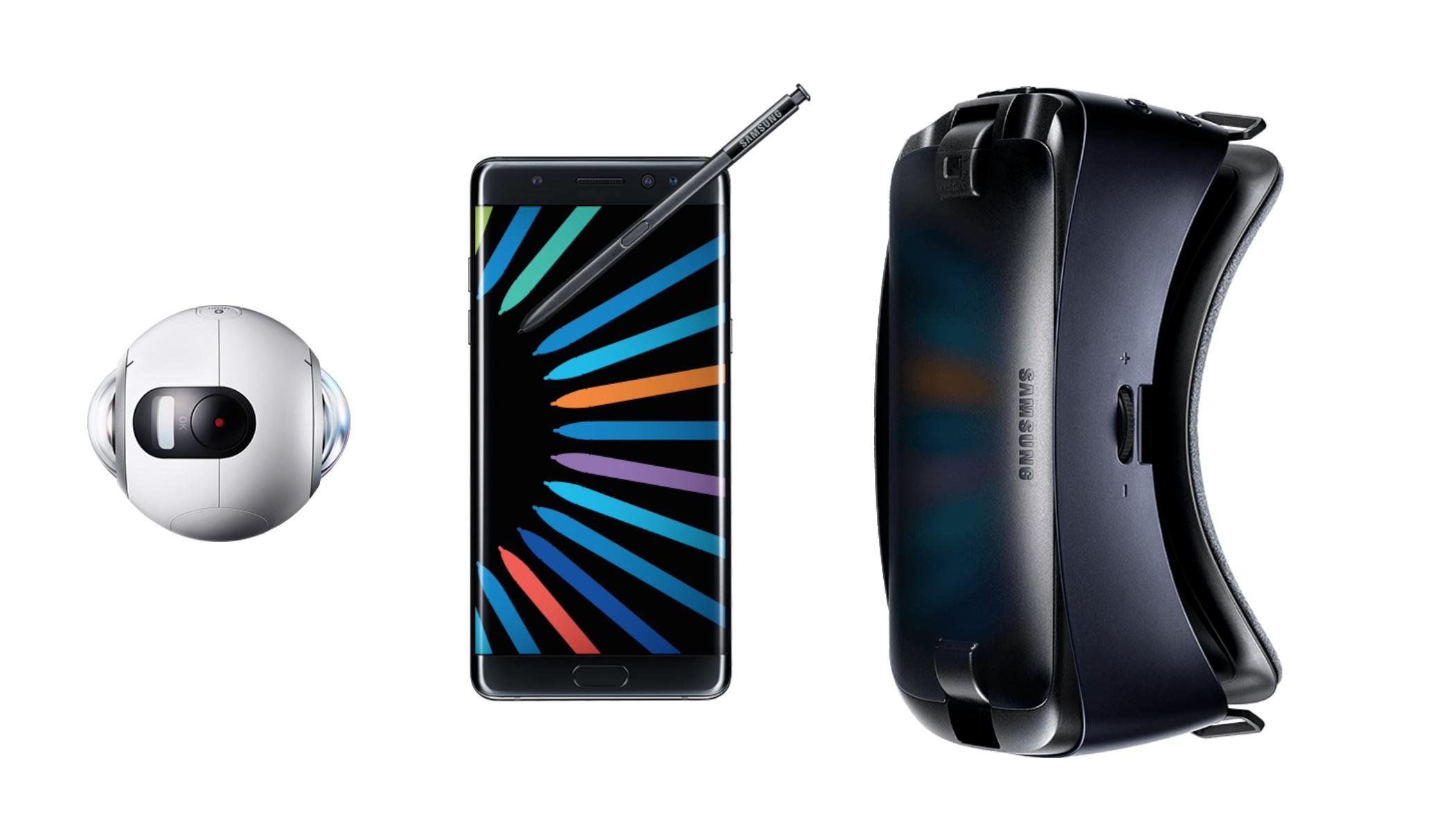 三星为 Note 7 发布新款 Gear VR,USB C 接口,然而 MWC 上附送的上代头盔在家里吃灰已久。
