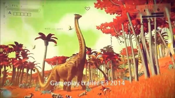 预告中美丽的蛇颈龙
