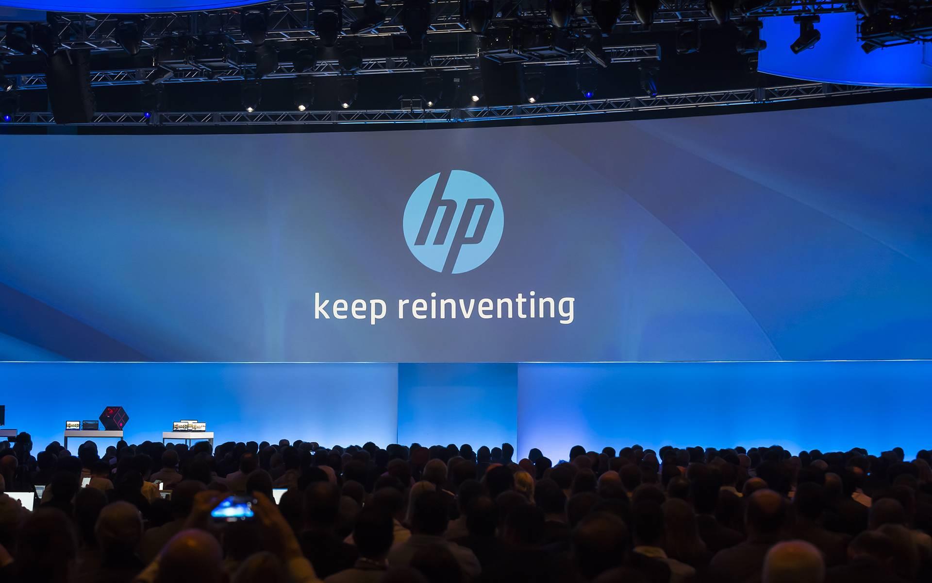 2016 年 9 月 13 日,拆分之后的惠普举办了首次全球合作伙伴大会,主题定为了 Keep Reinventing。