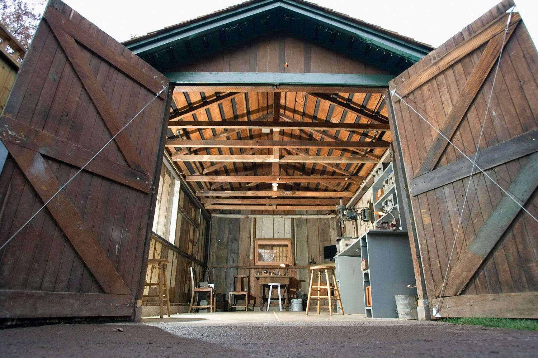 惠普车库,位于 Palo Alto。乔布斯年轻时曾在惠普实习。