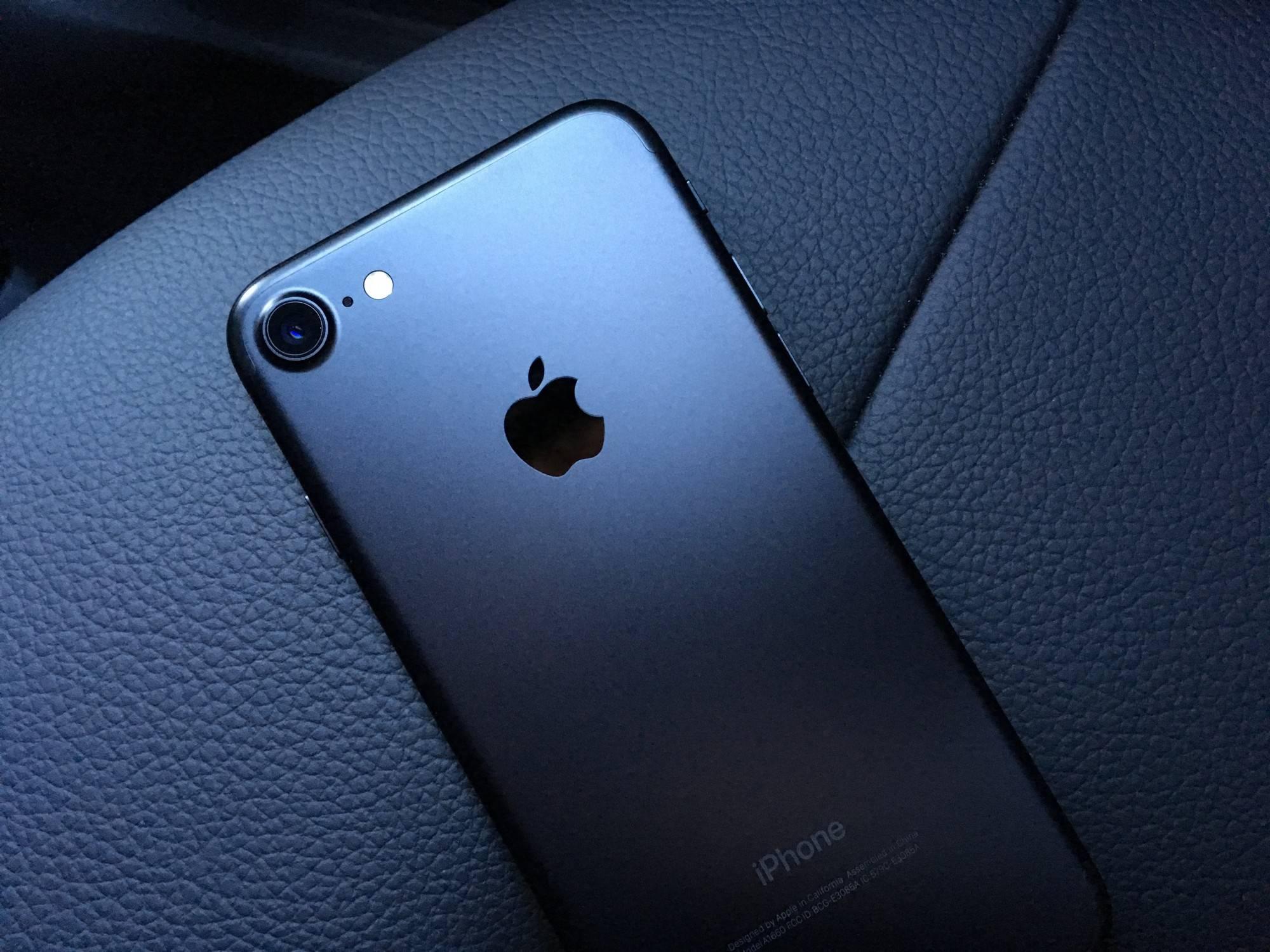 iPhone 7 有着绝佳的手感。