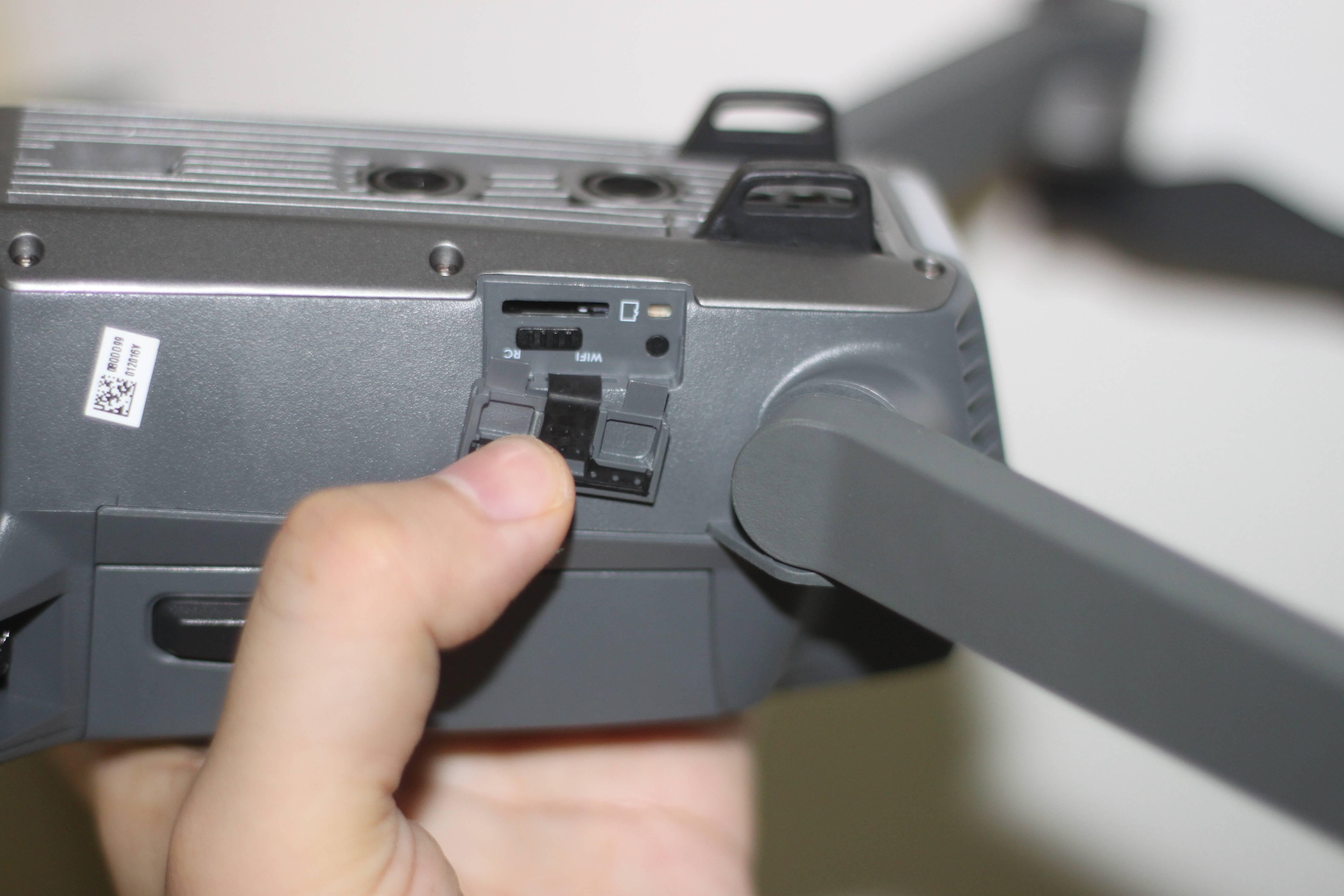 RC(遥控器模式)和 Wi-Fi 模式可以手动切换