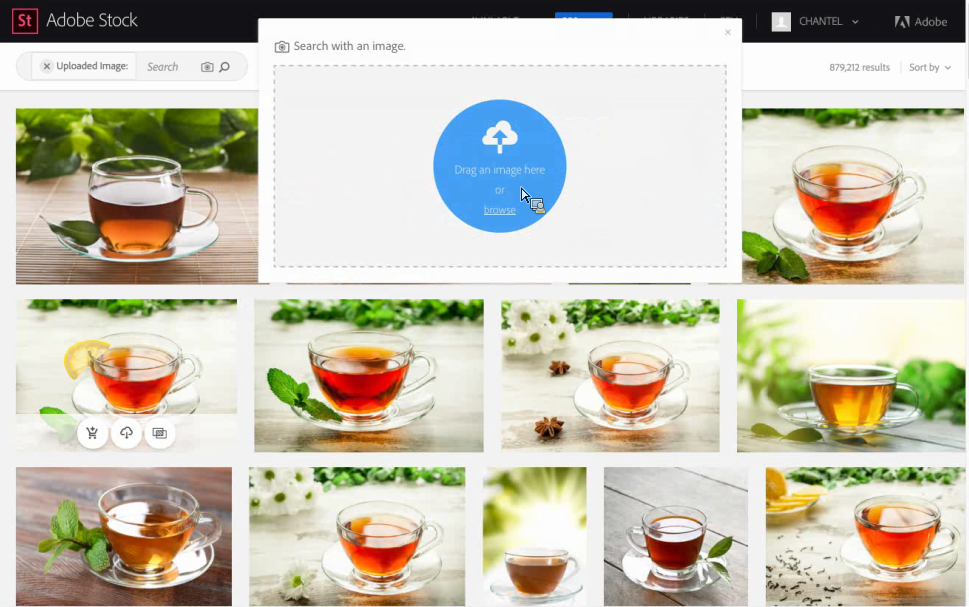 Adobe Stock_Visual Search