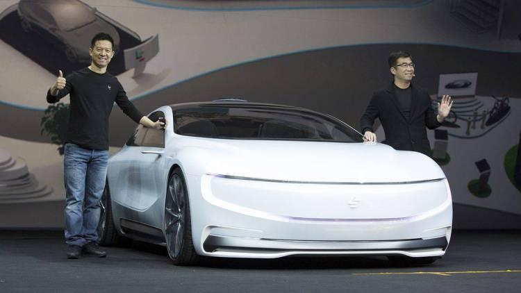 贾跃亭和他的法拉第汽车