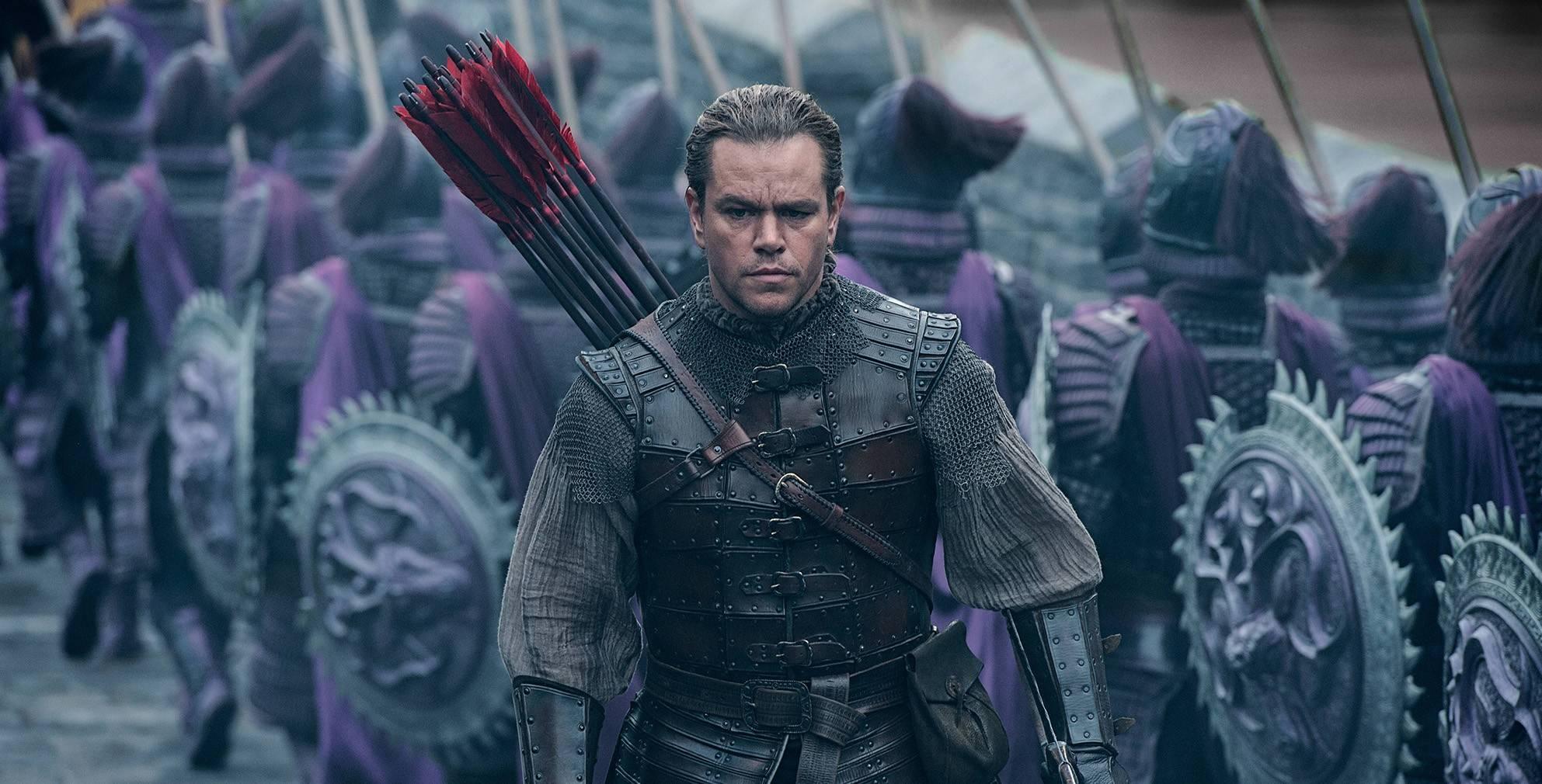Matt Damon the Great Wall