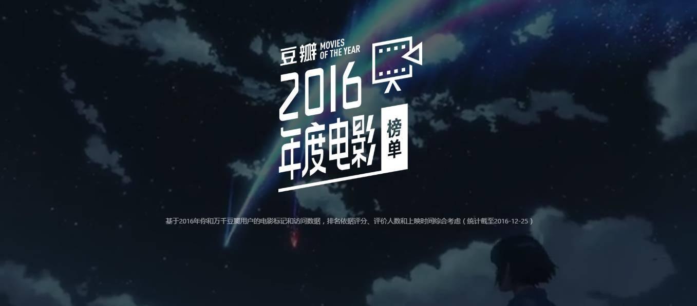 douban movie 2016
