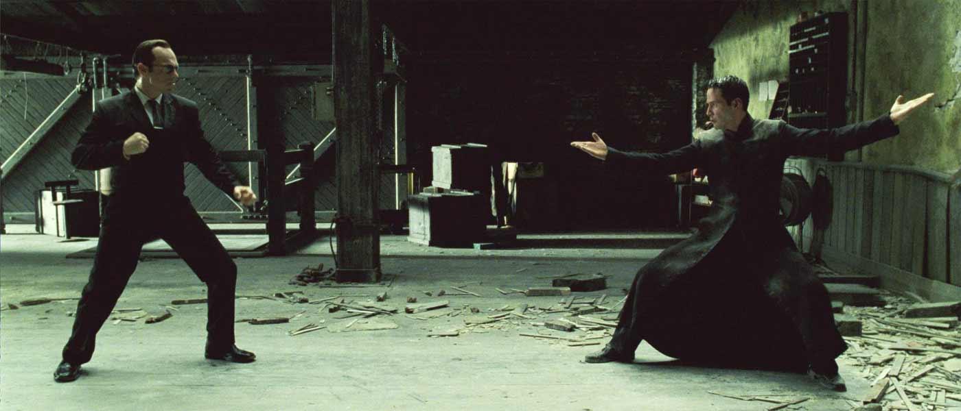the matrix kungfu