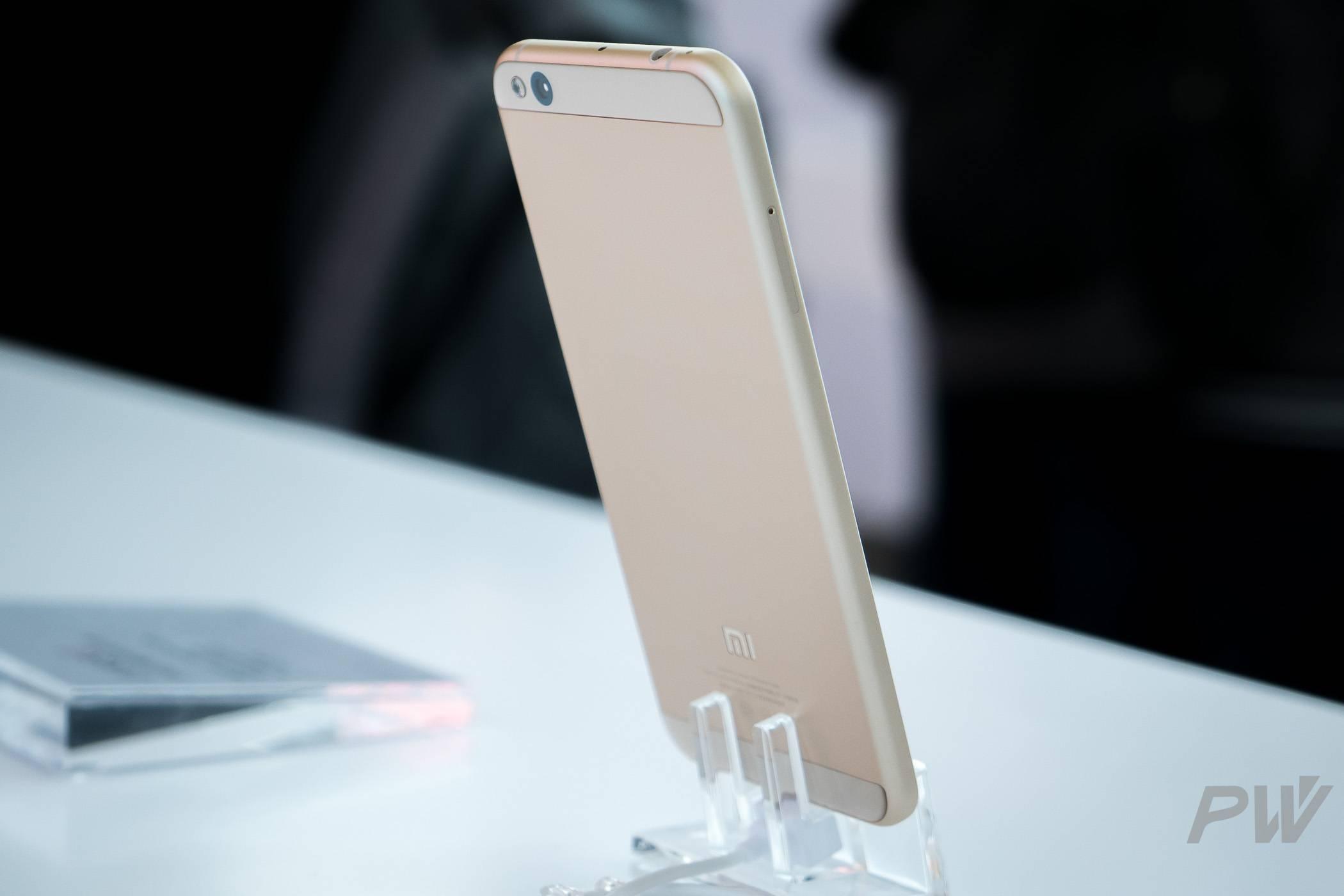 第一款搭载澎湃 S1 芯片的手机——小米 5c