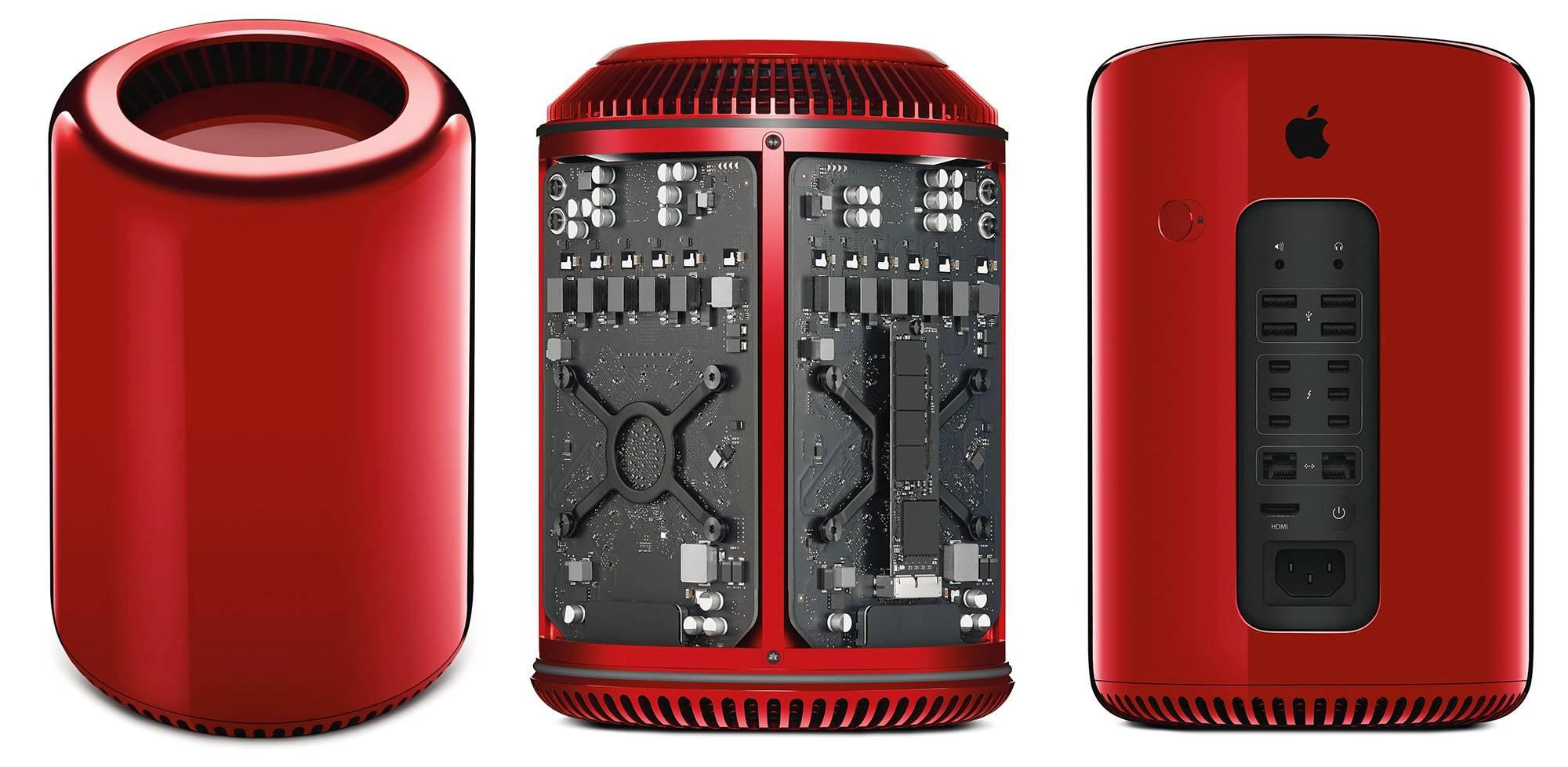 2013年11月,拍出97.7万美元高价的全球唯一一台红色Mac Pro,所得全部捐赠慈善机构。