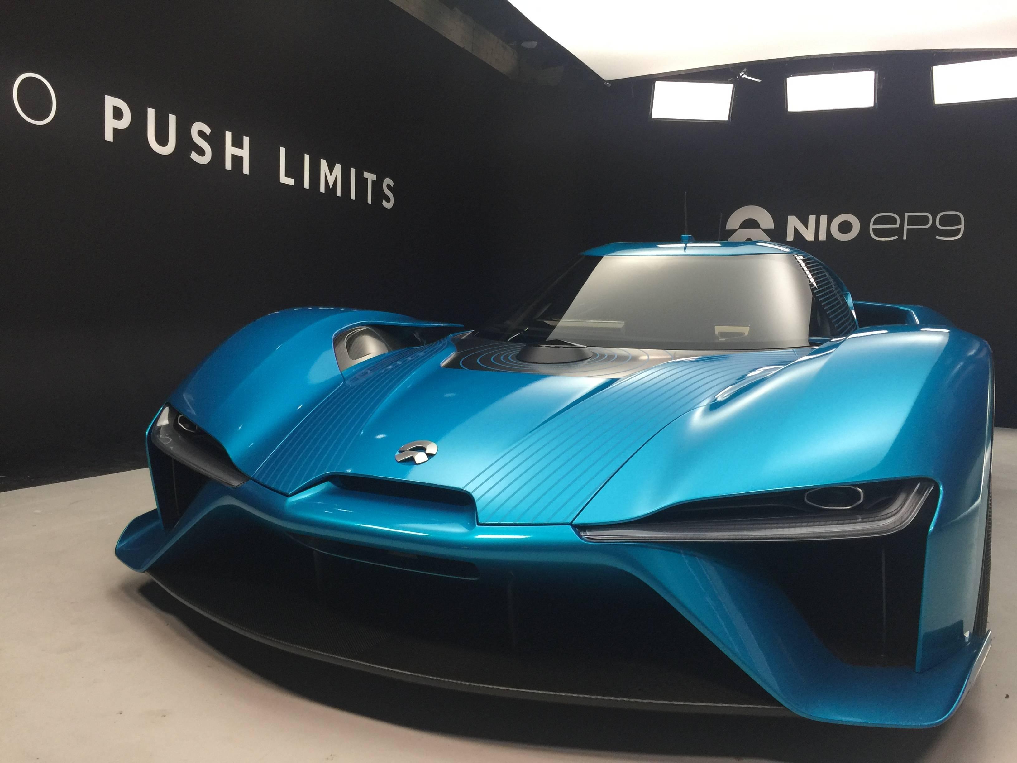 抢了世界最快电动车的风头,蔚来这款能量产的概念车才是本场重头戏
