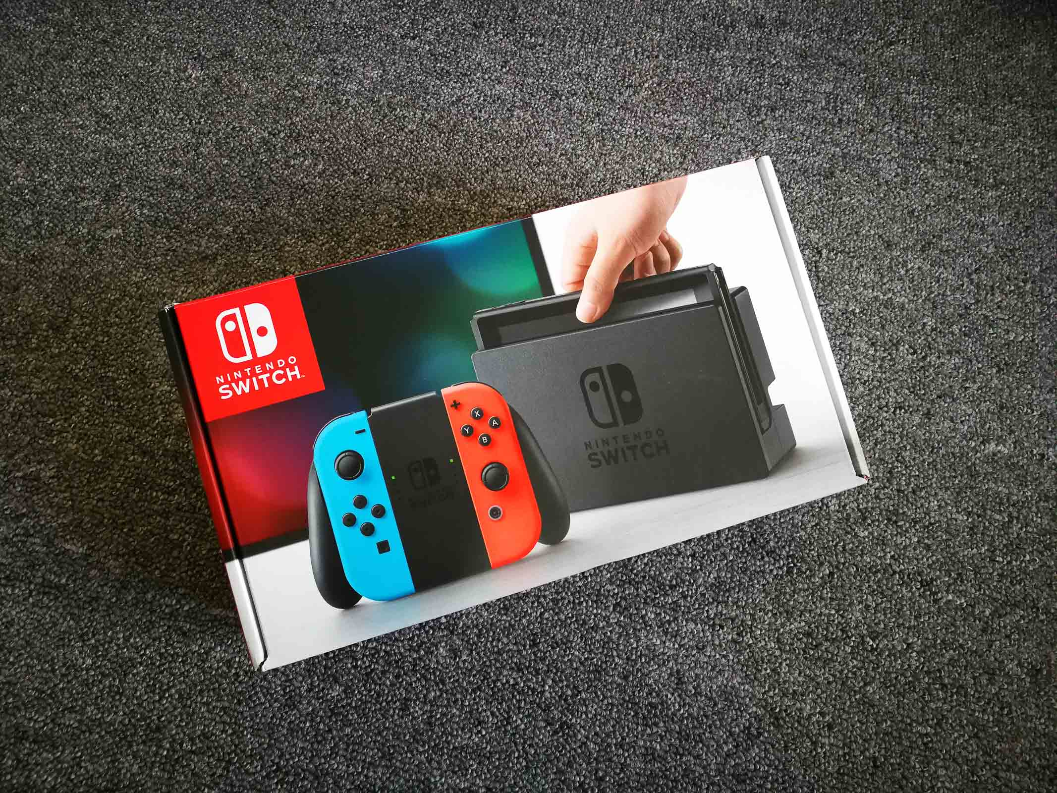 Nintendo Switch Unboxing PingWest Photo By Hao Ying