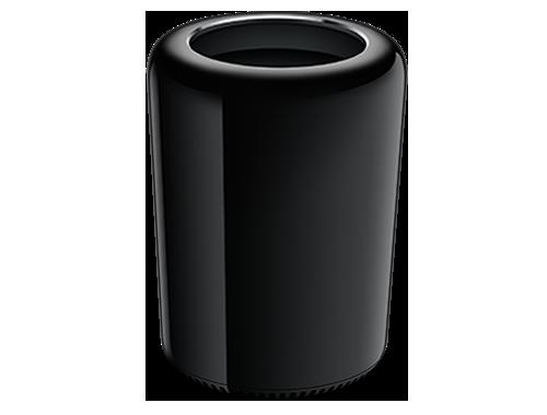 """2013 款 Mac Pro,因为黑色圆筒外形获得了""""垃圾桶""""的昵称"""