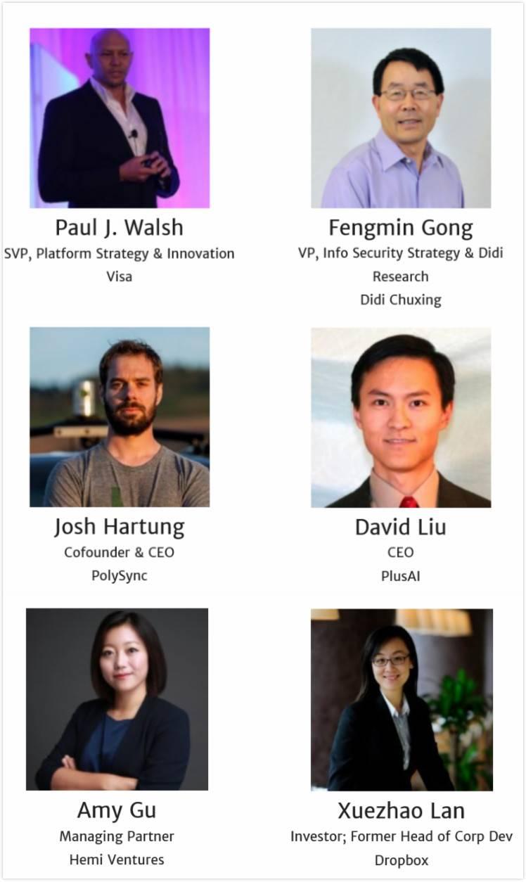 confirmed speakers