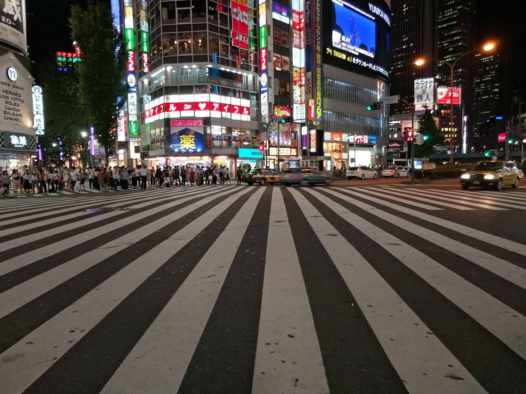 我们在东京街头拍摄的 vivo X9s Plus 样张。