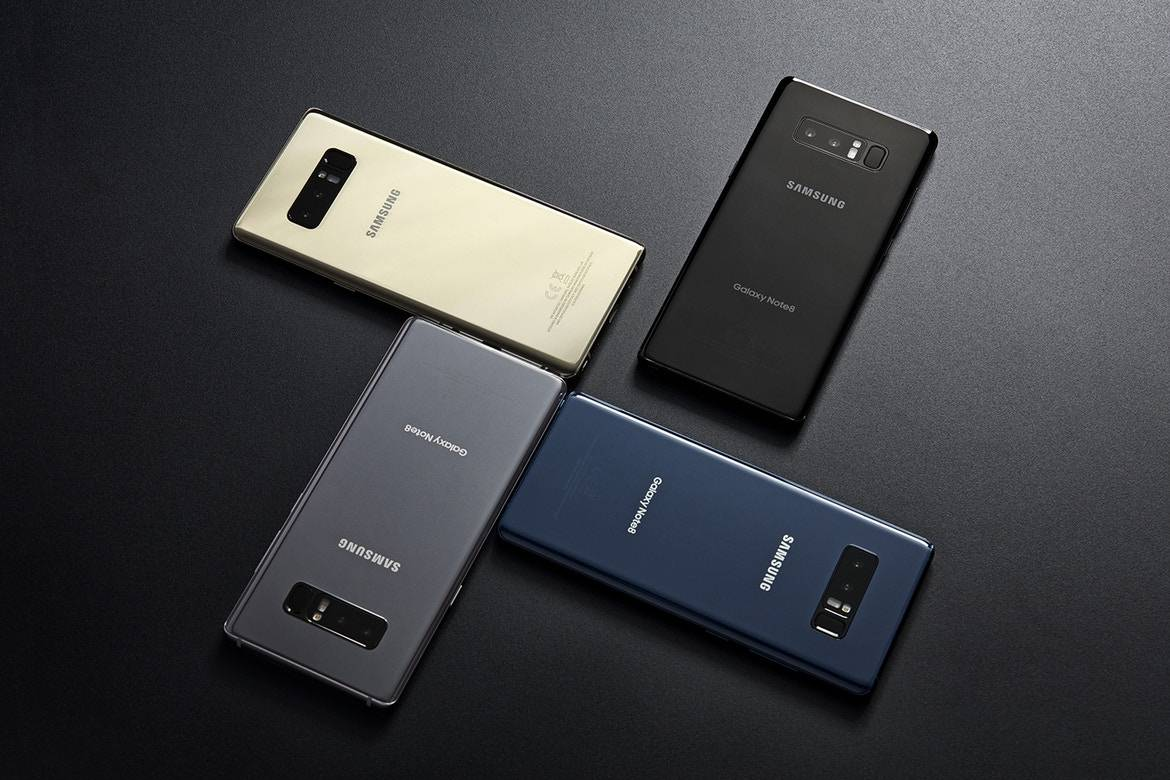 samsung galaxy Note 8 unboxing 5