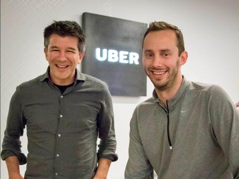 Uber 创始人卡拉尼克和勒万多斯基